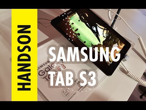 , title : 'Samsung Tab S3 - First Impressions and Hands on at the Launch event'