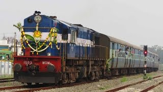 Pollachi India  City pictures : First Run of BG Trains on the New POLLACHI PALANI Broad Gauge Line - Indian Railways