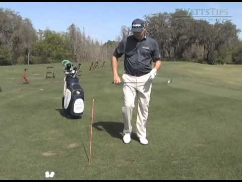 Edwin Watts Golf – WattsTips: Alignment Stick Swing Plane Drill