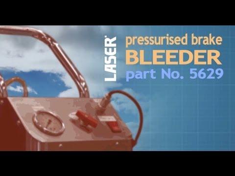 5629 Pressurised Brake Bleeder