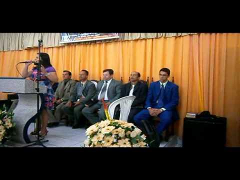 Assembleia de Deus Madureira em cupira-PE (Cantora Keila Cainã)