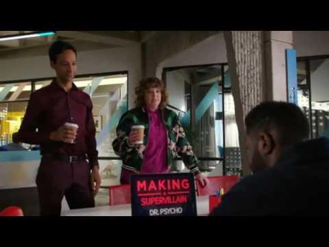 Powerless 1x09  Opening Scene Dorthy Spoils Making a Supervillan