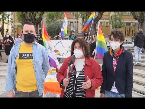 Avezzano - Manifestazione sul DDL Zan