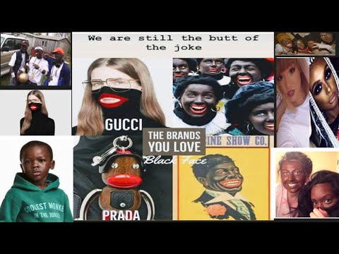 Funny face - Why do white people think Black face is funny Floyd Mayweather supports Gucci