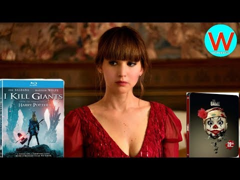 BluRay Tuesday #2: Red Sparrow, I Kill Giants And The Game