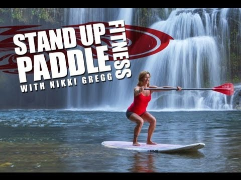 SUP fitness with Nikki Gregg