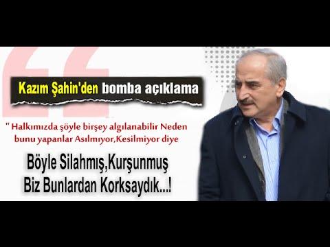 Kazım Şahin'in Saldırı sonrası açıklamaları