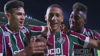 Curtam nossa página: http://www.facebook.com/LeandroSportsVideos Com zaga improvisada, Fluminense se fecha e bate...