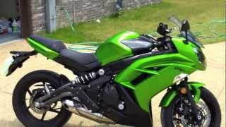 9. 2012 Kawasaki Ninja 650 Walk Around
