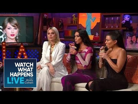 Kim Kardashian Says Beef With Taylor Swift Is Over   WWHL