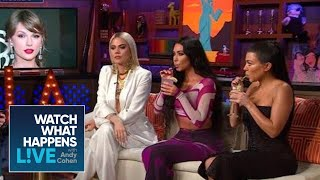 Kim Kardashian Says Beef With Taylor Swift Is Over | WWHL