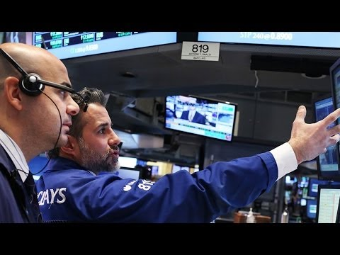 Stocks - Markets close lower as an ongoing raft of positive economic data raises expectations that stimulus will be wound back. Subscribe to TheStreetTV on YouTube: h...
