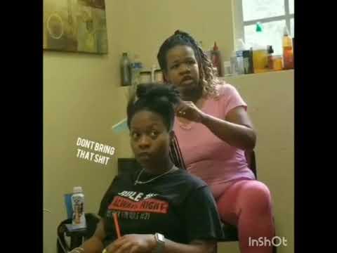 My HAIRDRESSER IS POSSESSED PRANK