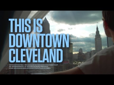 This Is Downtown Cleveland