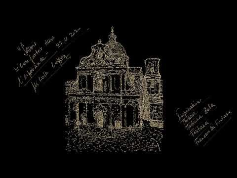 'Savoir réconforter dans l'espérance' : Poème calligramme de Nicole Coppey