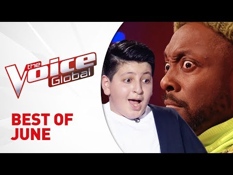 BEST OF JUNE 2019 in The Voice Kids