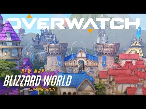 Blizzard World | New Hybrid Map | Overwatch