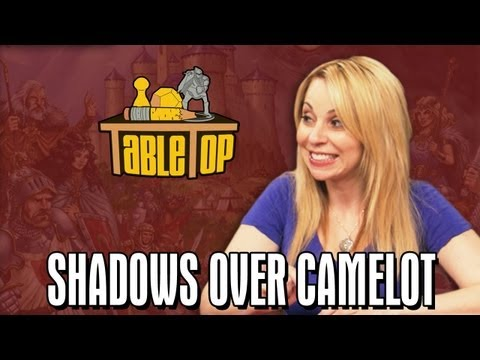 over - Want to play Shadows Over Camelot with your friends at home? Visit your friendly local game shop to purchase it! Or buy it online at: http://amzn.to/19kCWmi ...