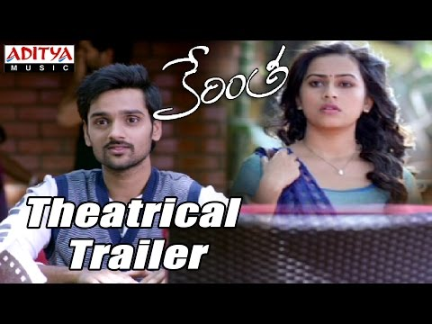 Kerintha Theatrical Trailer – Sumanth Aswin, Sri Divya