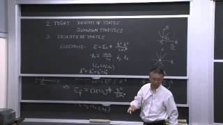 8. Density Of States And Statistical Distributions