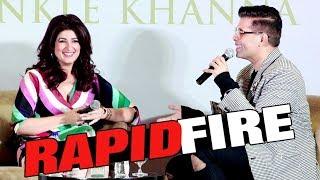 Video Twinkle Khanna Rapid Fire With Karan Johar | Twinkle Khanna Book Launch MP3, 3GP, MP4, WEBM, AVI, FLV Oktober 2018