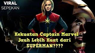 Video 10 Kekuatan Captain Marvel yang Dapat Mengalahkan Thanos MP3, 3GP, MP4, WEBM, AVI, FLV September 2018