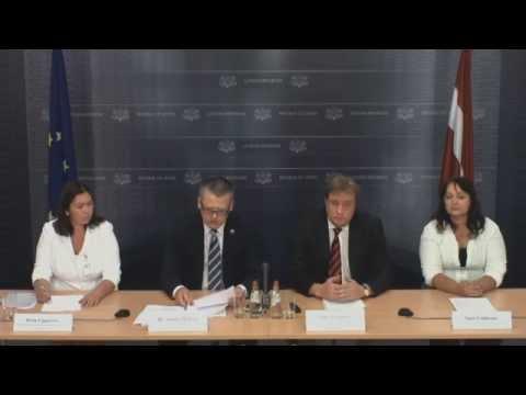 Veselības ministrs mediju brīfingā pirms Ministru kabineta sēdes 25.augustā