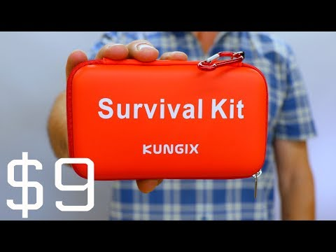 Testing The Cheapest Survival Kit On AMAZON (видео)