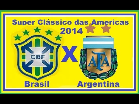 BRASIL - FICHA TÉCNICA BRASIL 2 X 0 ARGENTINA Local: Estádio Ninho de Pássaro, em Pequim (China) Data: 11 de outubro de 2014 (sábado) Horário: 9h05 (de Brasília) Árbi...