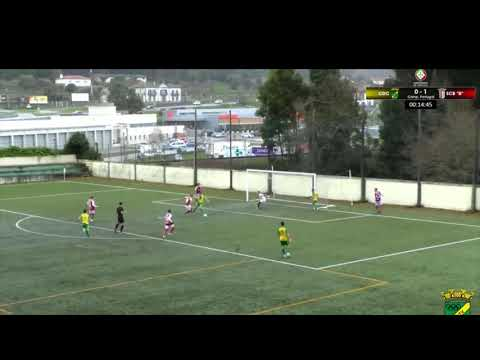 CD Cerveira vs SC Braga B (Golos)