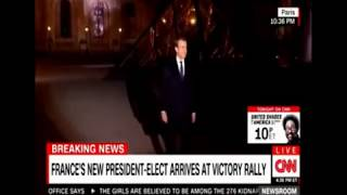 Video Macron walks to the Stage (to the Darth Vader Theme) MP3, 3GP, MP4, WEBM, AVI, FLV September 2017