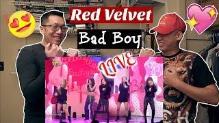 Red Velvet(레드벨벳) - Bad Boy(배드 보이) @인기가요 Inkigayo Reaction