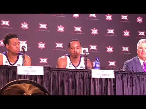 Kansas State players talk about losing to Iowa State in the Big 12 tourney