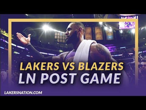 Video: Lakers Nation Discussion: Lakers Beat Blazers, LeBron Passes Wilt, & Rondo Injury