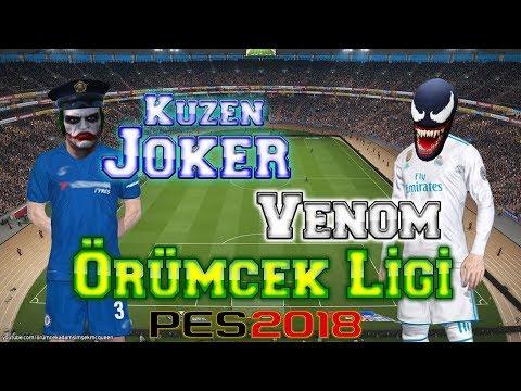 Venom Kuzen Joker Maç Yapıyor Pes 2018 Örümcek Ligi Futbol Maçı