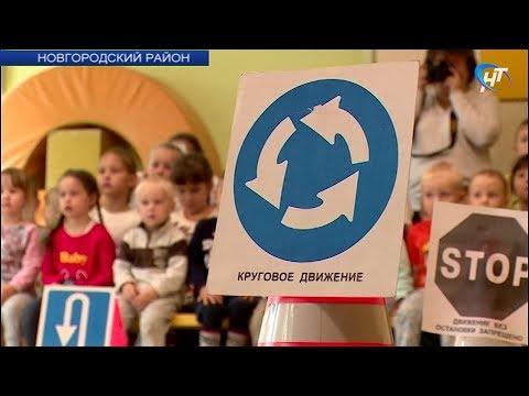 В детском саду в Новой Мельнице прошла акция, посвященная дорожной безопасности