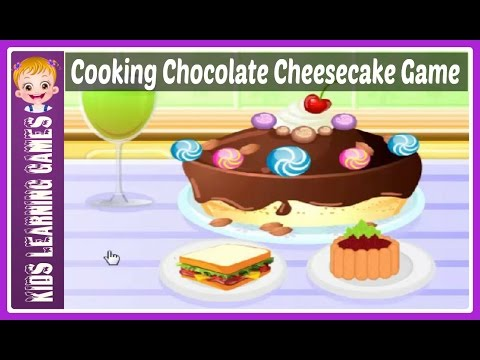Joy Of Cooking Chocolate Cheesecake A Free Online Cooking Games Unblocked 2017