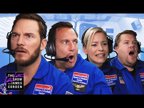 Astronaut Training w Chris Pratt Elizabeth Banks  Will