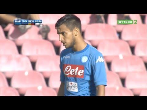 Adam Ounas vs Benevento (17/09/2017) HD 720p 60p   Debut for SSC Napoli