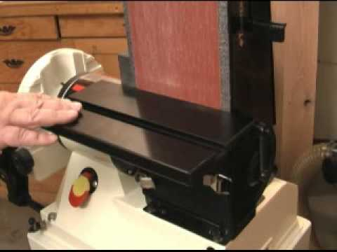 Jet JSG-96 Disc/Belt Sander Review