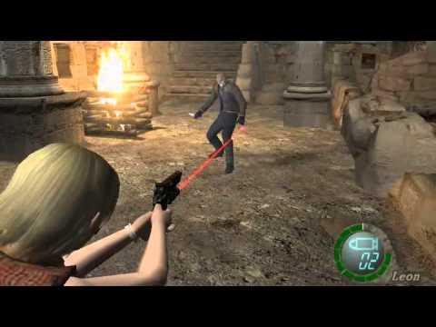 resident evil 4 PC -  ASHLEY vs LEON