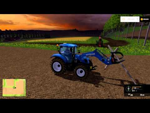 farming simulator 2015 to great demands and tree cutting