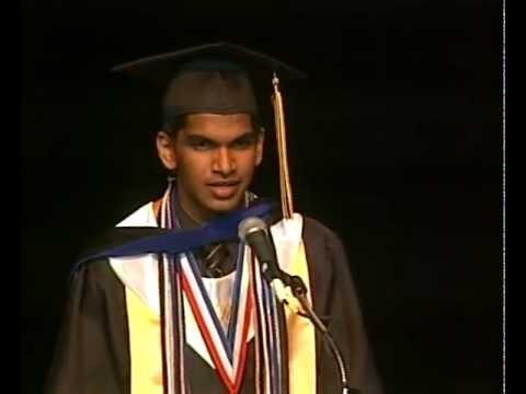 Perfect SAT Score Student Dumps Girlfriend in Graduation Speech