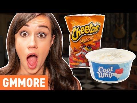 Strangest Pregnancy Cravings Taste Test