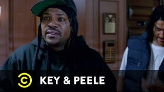 Two friends in police custody begin to suspect that their third companion may be ratting them out. Watch more Key & Peele: http://on.cc.com/1LjDTf2.