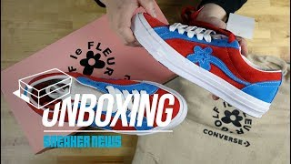 Unboxing The Tyler Golf Le Fleur Converse One Star