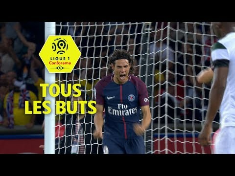 Tous les buts d'Edinson Cavani | saison 2017-18 | Ligue 1 Conforama