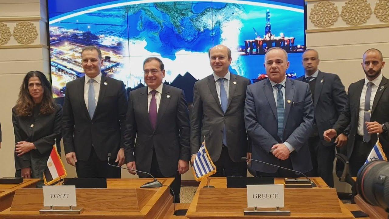 Κ. Χατζηδάκης: Ιστορική στιγμή η μονογραφή του καταστατικού του East Med Gas Forum