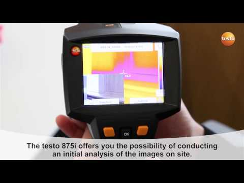 testo 875i - Step 09 - How to View thermal images