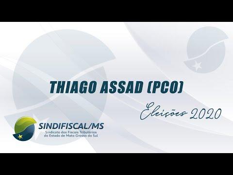 Entrevista com o candidato Thiago Assad (PCO)